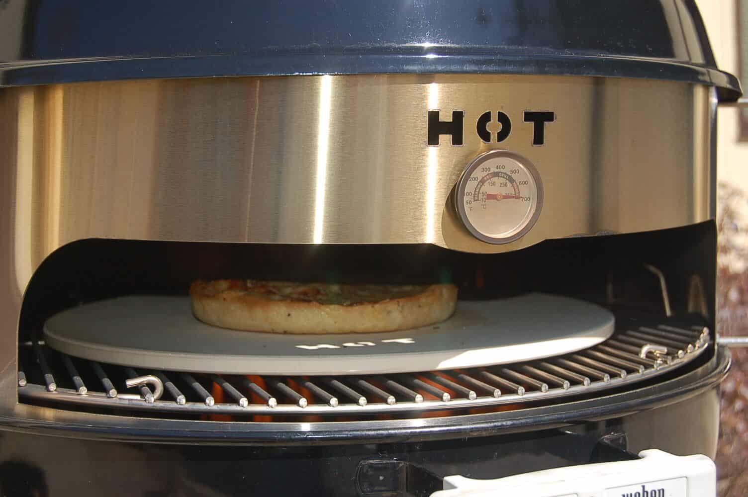 KettlePizza Stainless Horizontal