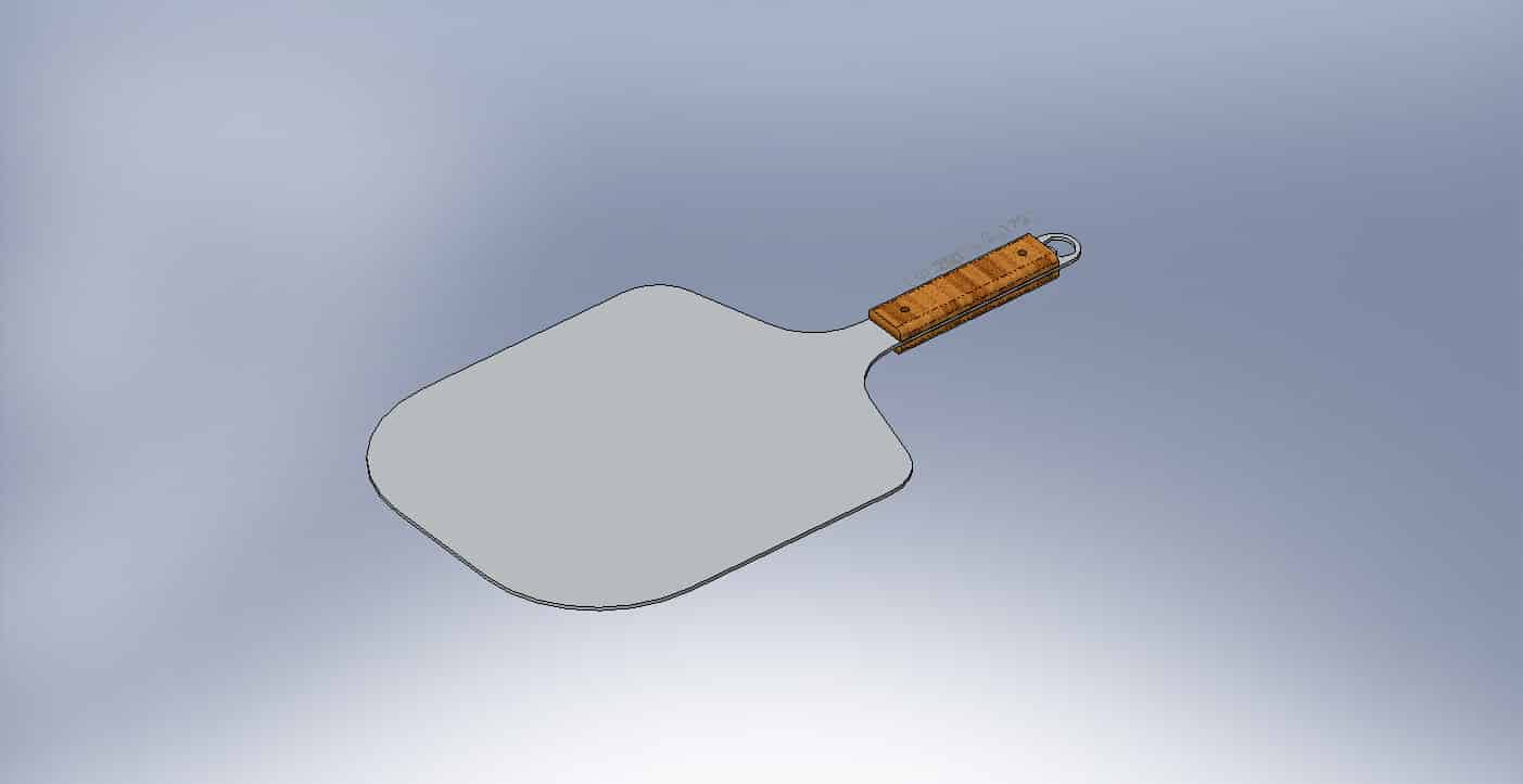 KettlePizza Pro Pizza Peel - CAD Design