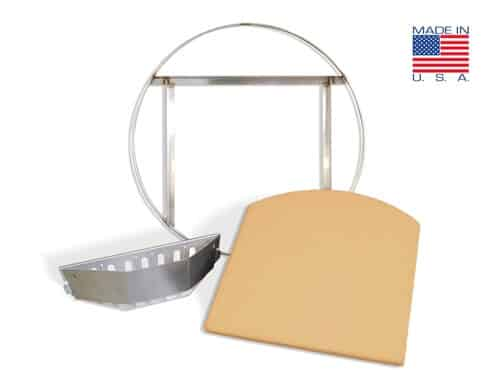 KPPG-22 - KettlePizza ProGrate & Tombstone Combination Kit