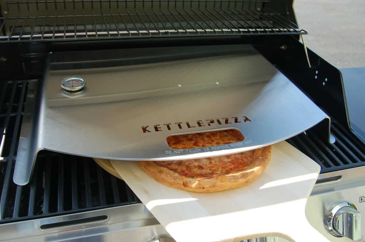 Gas Grill Pizza Oven Kits - KettlePizza Gas Oven Inserts