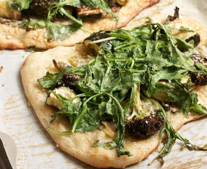 Green Veggie Pizza