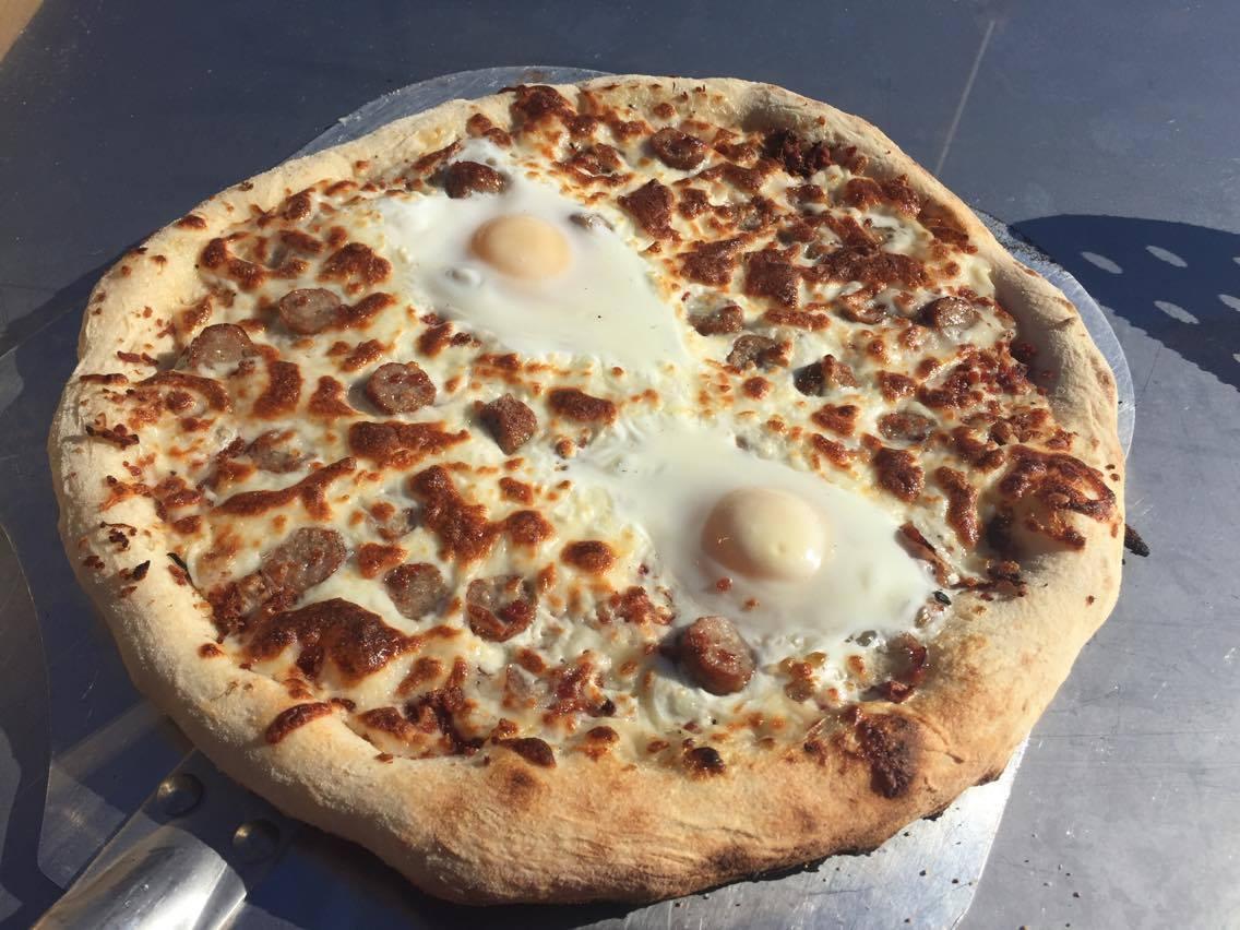 KettlePizza Breakfast Pizza