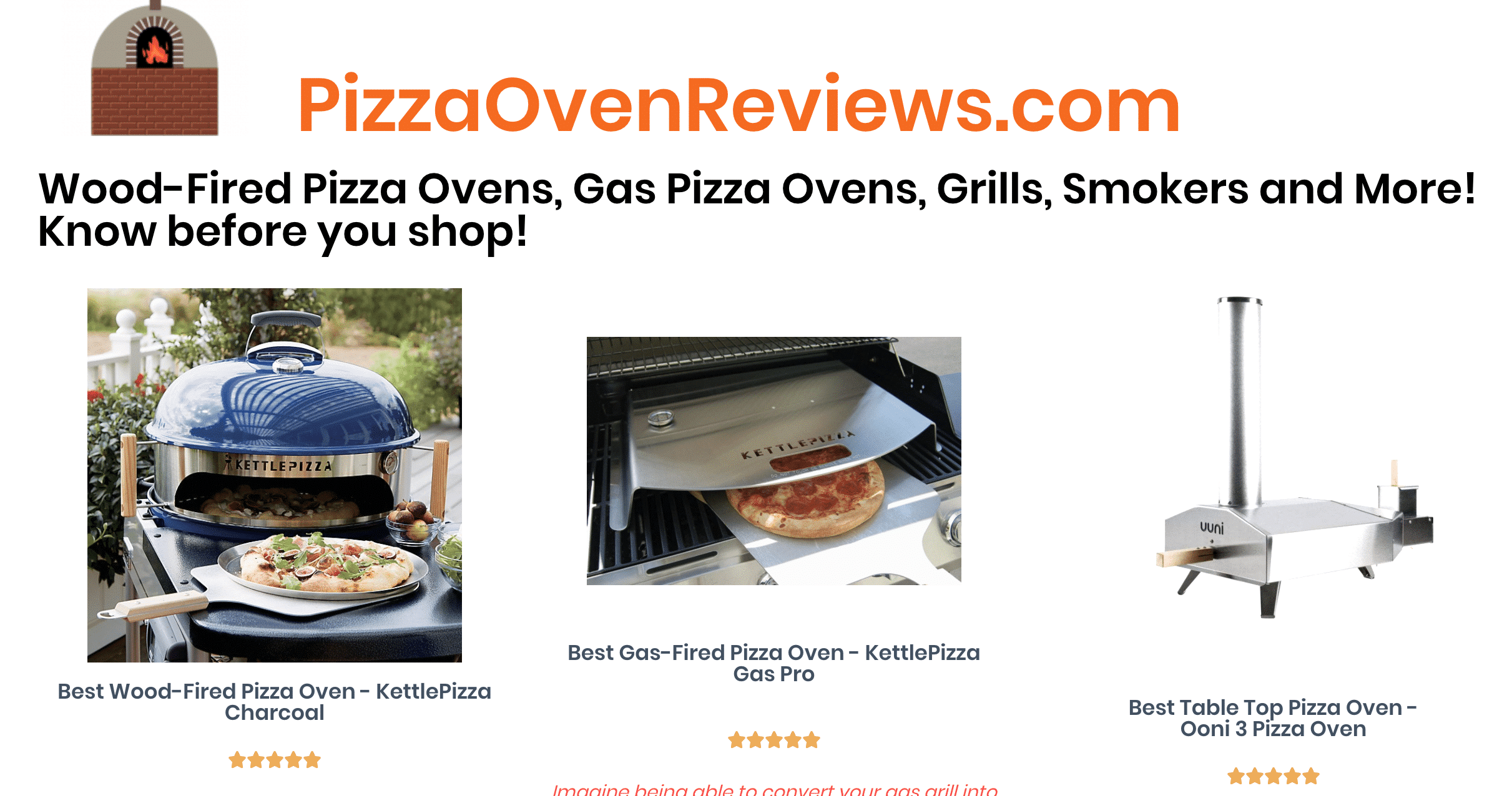 PizzaOvenReviews.com