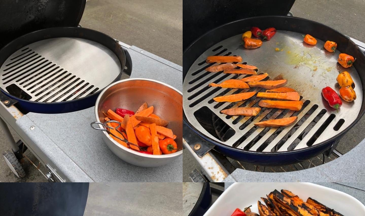 GrillingSteel™ Stainless Steel Griddles for Weber Kettle Now Available – Great Upgrade to Traditional Grill Grates