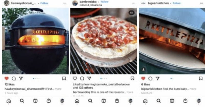 Our KettlePizza Instagram Fans Are Cooking Some Amazing Pizzas